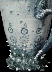Industrial Wedding Cake Mug