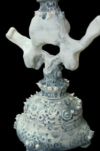 Vertebrae Candle Holder