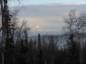 Redoubt in the fog