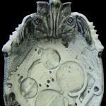 BioIndustrial Baroque Tray with Lynx Jaws